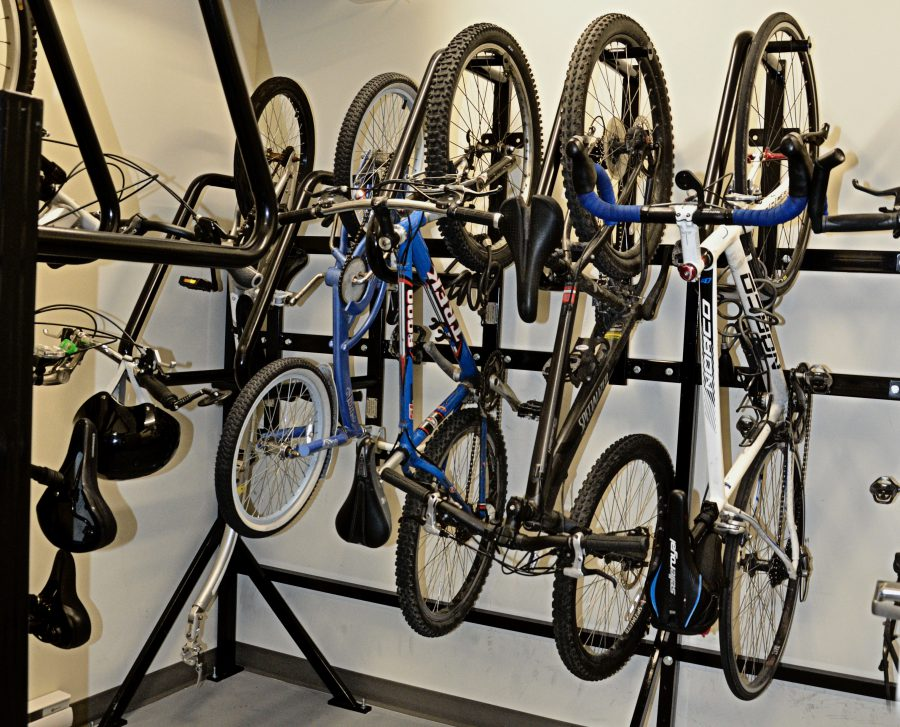 Secure bike storage - interior